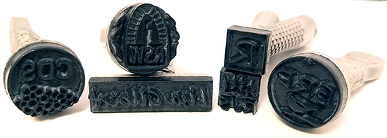 clay signature stamps