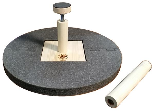 Accesorio de soporte para arcilla cerámica