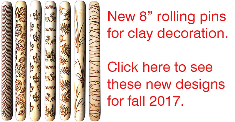 rolling pins for clay