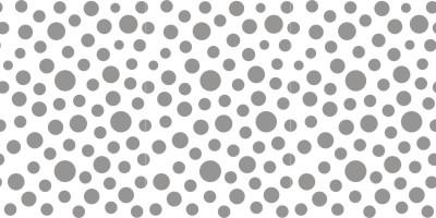 Random Dots roller pattern
