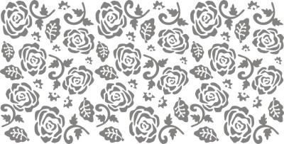 Roses roller pattern